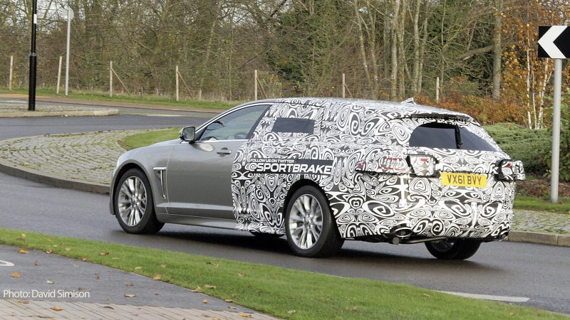 Jaguar XF Sportbrake is the XF wagon of our dreams