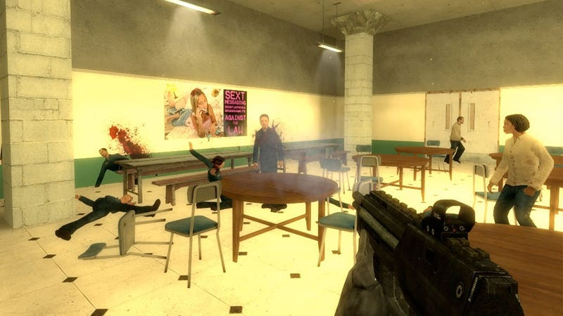 No Regrets From The School Shooter Game That Aims For Columbine Massacre Simulation