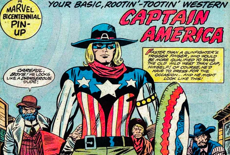 Captains America: The Many Who Carried the Shield