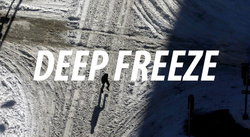 Why the Entire Country Is Frozen Solid