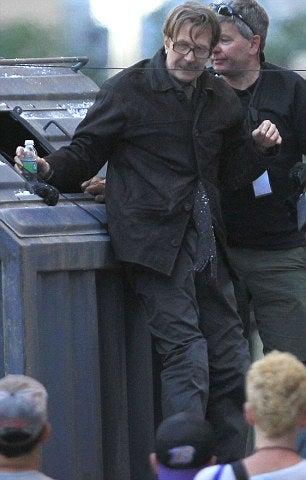 The Dark Knight Rises Set Photos