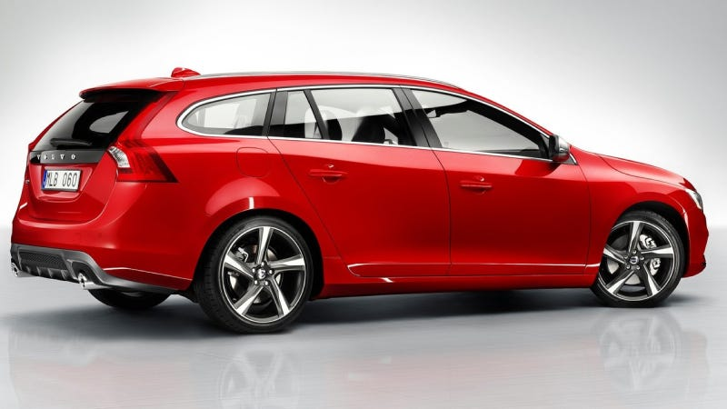 You Can Have A 2014 Volvo V60 Wagon With Four, Five Or Six Cylinders