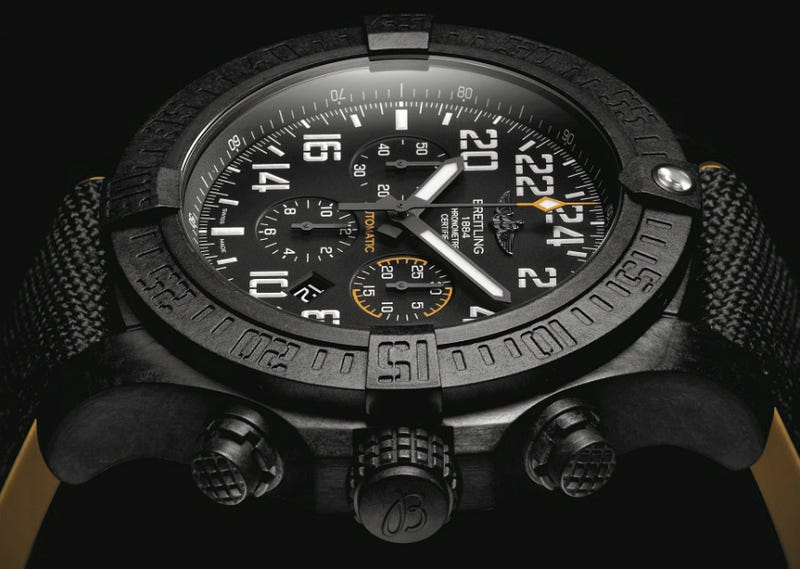 Breitling's First Plastic Watch Still Costs a Damn Fortune