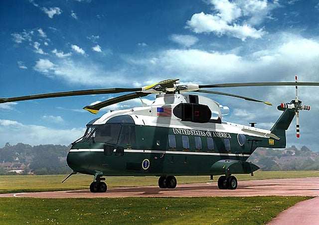 The $13 Billion Presidential Helicopters We Scrapped and Sold to Canada