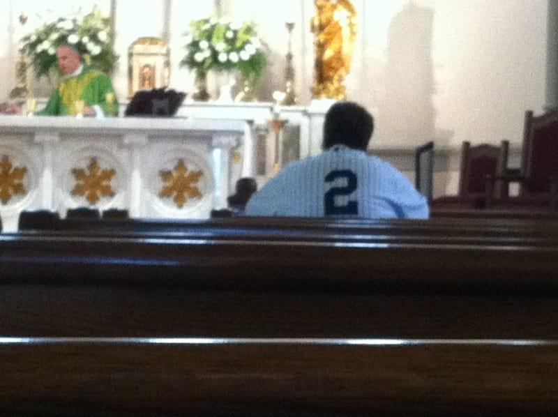Derek Jeter Is On A Mission From God