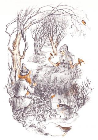 Pauline Baynes' Illustrations