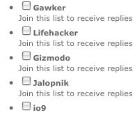Tawker Sends Comment Reply Notifications for This Site via Email