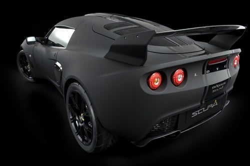 Lotus Exige Scura, Stealth: Press Photos