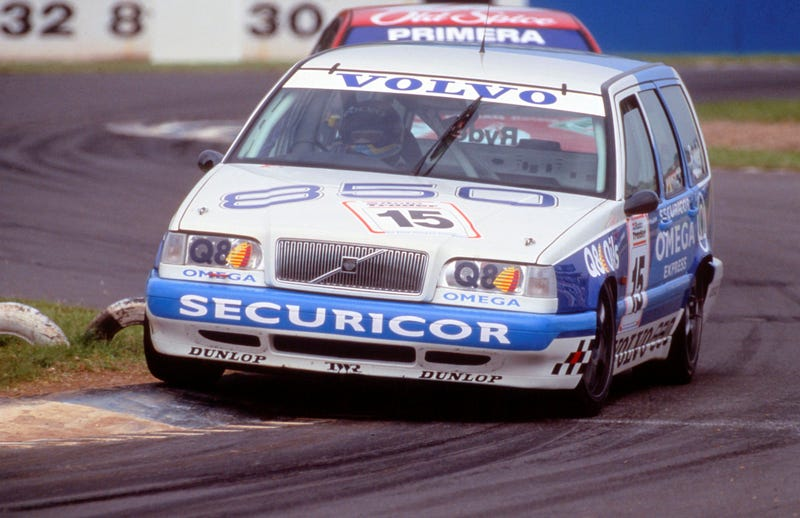 Volvo's 850 Wagon Racer Was All Sorts Of Two Wheeling Awesome Insanity
