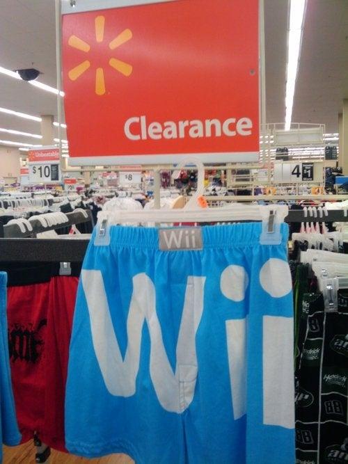 All Wii Underwear Must Go