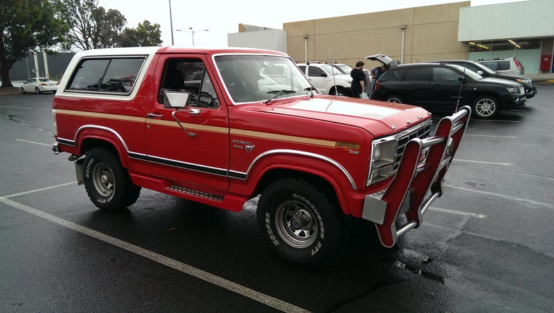 Sweet Bronco? Or Bro-nco? The bro truck argument rears it's ugly head again.