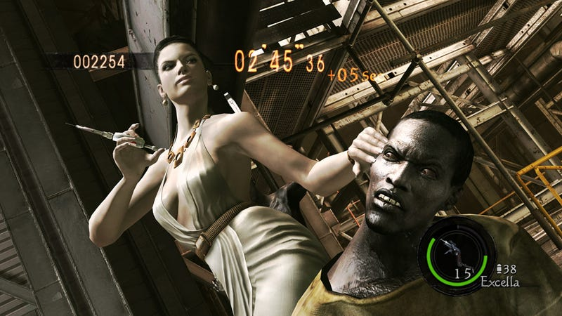 Tricell CEO Goes Mercenary In Resident Evil 5: Gold