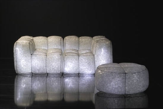 Light-Up LED Furniture is Sticky, Disco, But You Can Call It Stardust