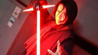 Someone Built A Replica Of The Weird New <i>Star Wars</i> Lightsaber