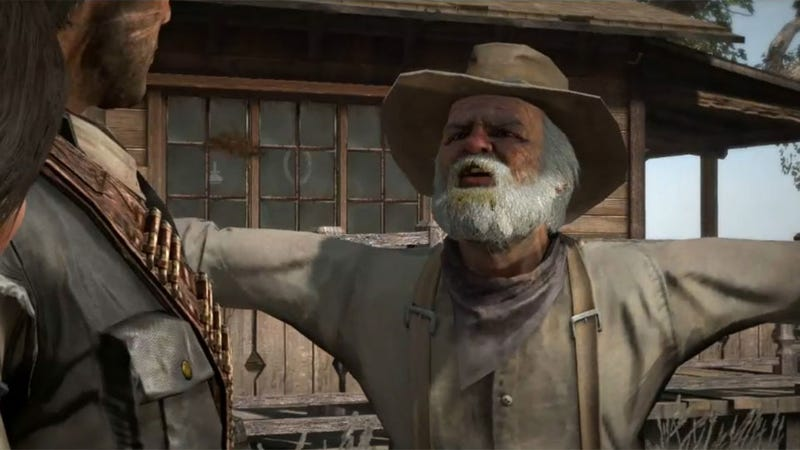 Red Dead Redemption's Myths & Mavericks Says Uncle September 13
