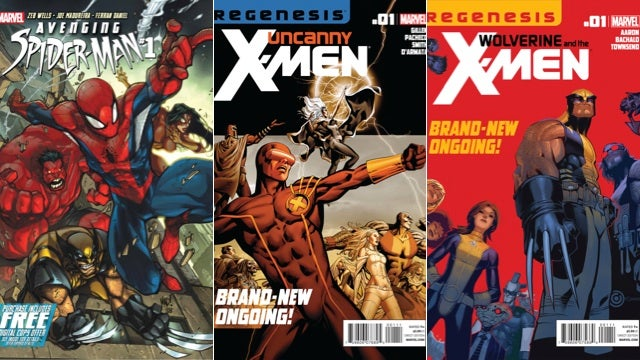 Every Marvel Comic Now Comes with a Digital Copy