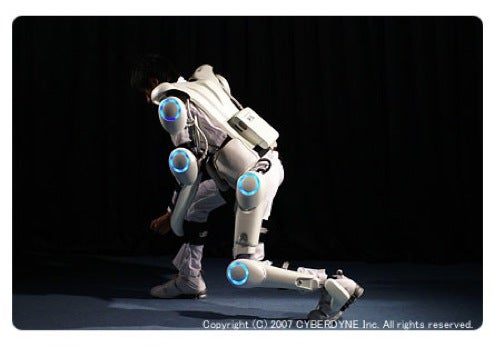Rent Your Own HAL Exoskeleton For The Low, Low Price of $1000!