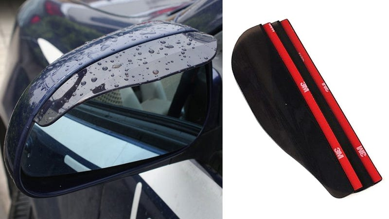 Finally, Someone Made a Visor For Your Car's Side Mirrors