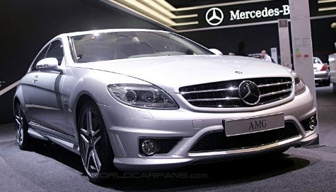 Dutch Treat: Mercedes CL65 AMG Revealed in Amsterdam