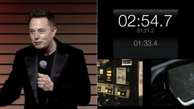 Watch Tesla Swap A Model S Battery In 90 Seconds