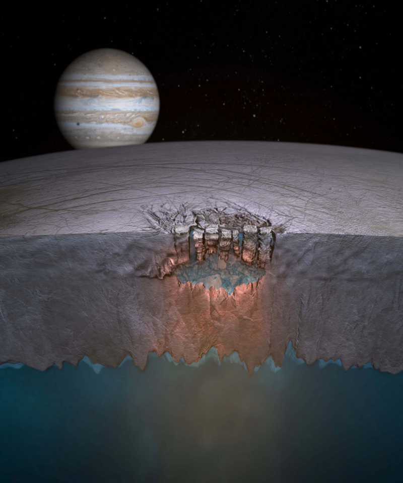 Hubble Discovers New Evidence of Water Geysers on Europa