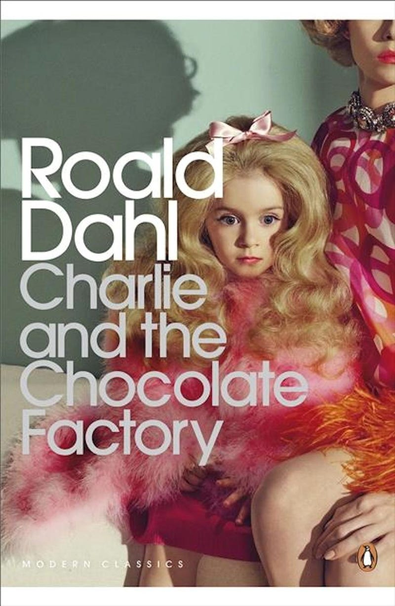 I'm So Weirded Out By the New Charlie and the Chocolate Factory Cover
