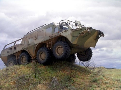 Russian Used Cars Are Much Better Than Ours: GAZ 59037A
