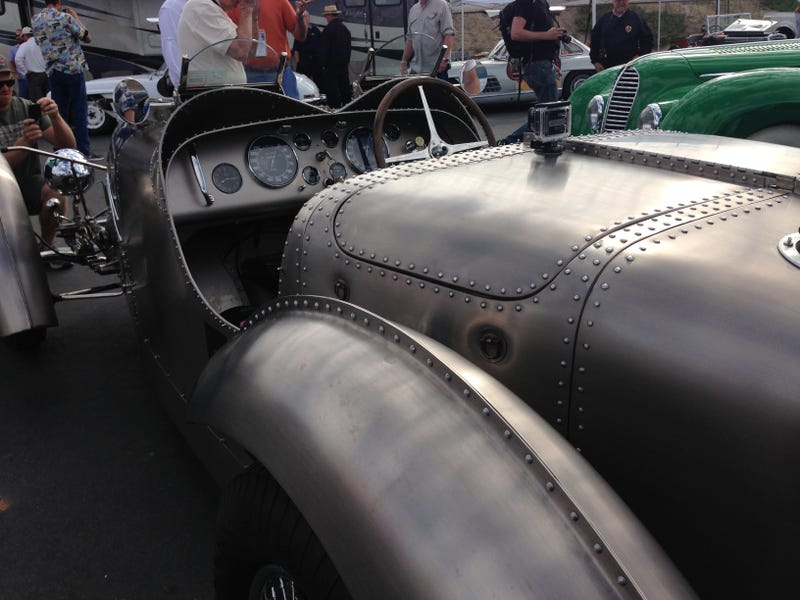 Why Is This Bugatti Riveted?