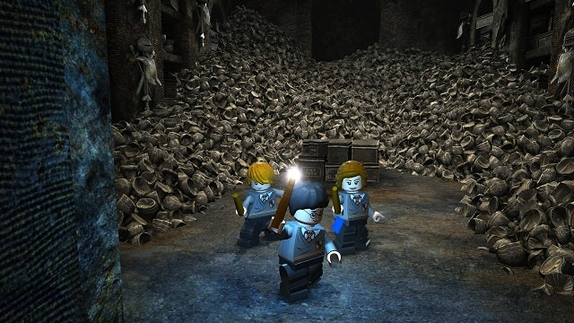 At Least the LEGO Harry Potter Video Game Characters Don't Look Too Old for Hogwarts