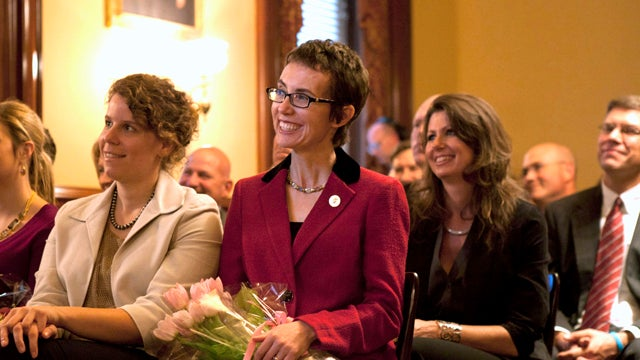 Gabrielle Giffords Reads Aloud In Audiobook