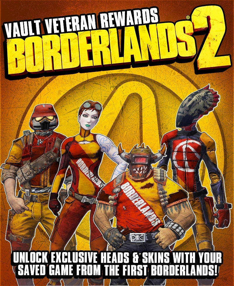 This Is What You Will Unlock In Borderlands 2 If You Have a Borderlands Save File