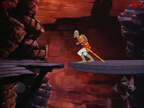 Touch Dirk the Daring With Dragon's Lair HD for iPad