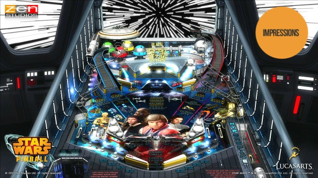 This Star Wars Pinball Adaptation is a Tour de Force