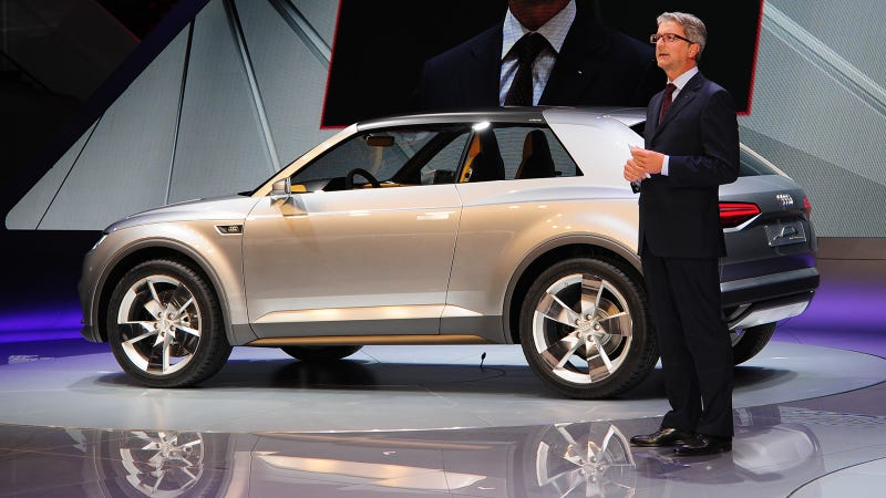 Audi Crosslane Coupe Concept: What Exactly Is This Thing?