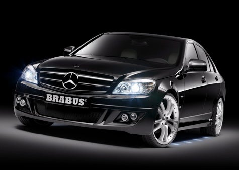 Package Grabber: Brabus Tunes the Mercedes C-Class