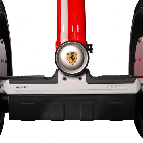 Ferrari Segway PT i2 Is not Faster than Regular Segway