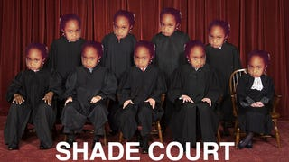 Shade Court in Session