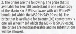 Nintendo Power Contest: Wii Wheel Cost Driven Down to $9.99