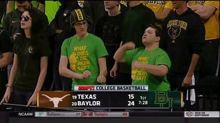 """Today's Episode Of """"Baylor Fans Try To Dance"""""""