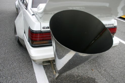 That's Not A Custom Exhaust, THIS Is A Custom Exhaust; Japanese Tuner Car Fun