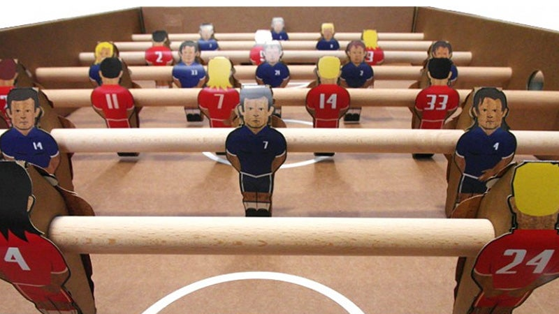 Don't Spill Anything On This $55 Foosball Table