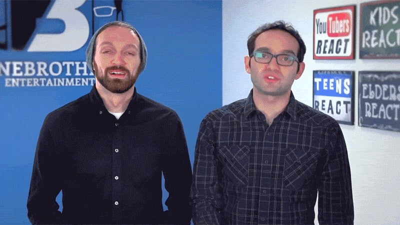 The Internet Reacts To The Fine Brothers' Attempt To Trademark 'React'