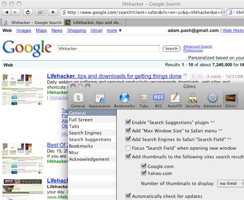 Glims Turns Safari into a Browser Worth Using