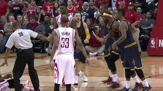 James Harden Suspended One Game For Kicking LeBron James