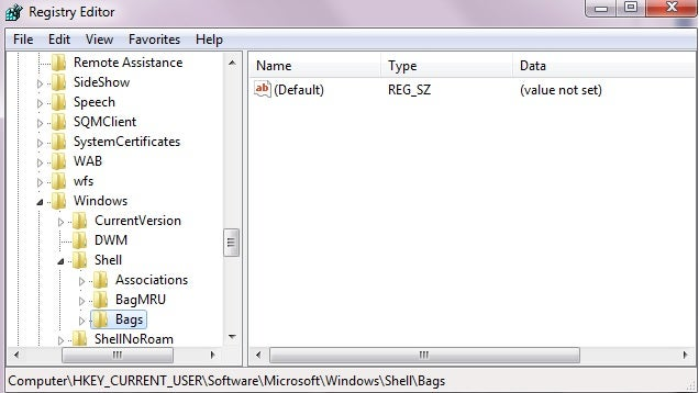 Remove Shellbag Entries in Windows for More Privacy