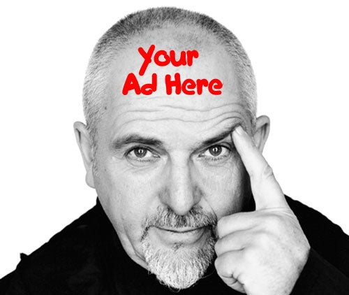"Peter Gabriel's We7 Music Download Service, Free With ""Grafted"" Ads"