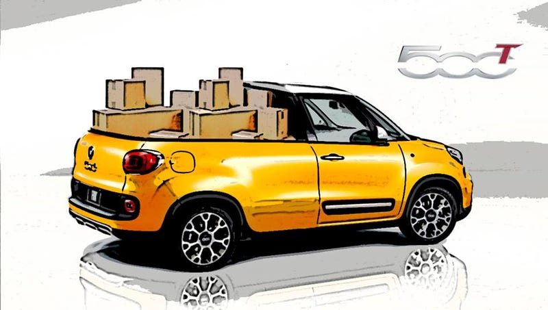 The FIAT 500T is not a real vehicle