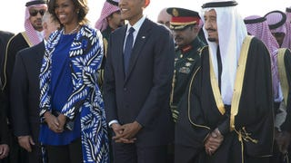 Michelle Obama's Bare Hair in Saudi Arabia Isn't a Real Controversy