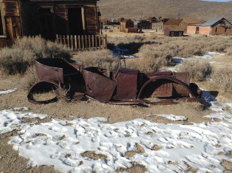 The Abandoned Cars of Bodie, CA