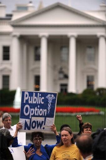 Harry Reid Says Senate Healthcare Bill Will Include Public Option